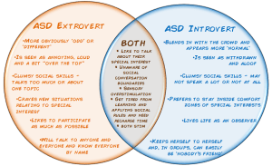 Autistic introversion vs autistic extroversion  the curly hair project