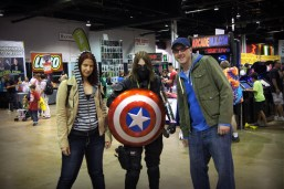 Undercover Natasha and Steve with the Winter Soldier