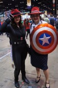 Agent Black Widow Carter and Peggy Carter