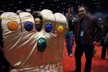 Starlord found the Infinity Gauntlet!