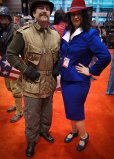"""Dum Dum"" Dugan and Agent Peggy Carter"