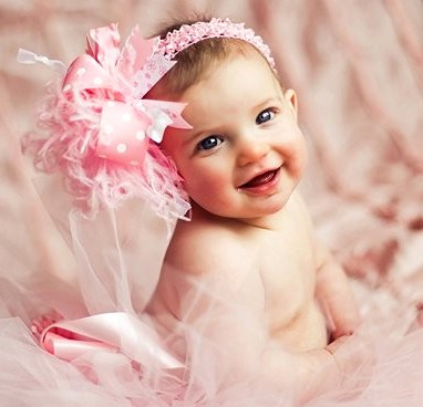 Girly Wallpapers Hd Sweet Baby Pink Over The Top Hair Bow Headband