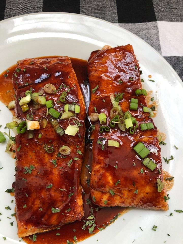 Weeknight Sweet Heat Salmon