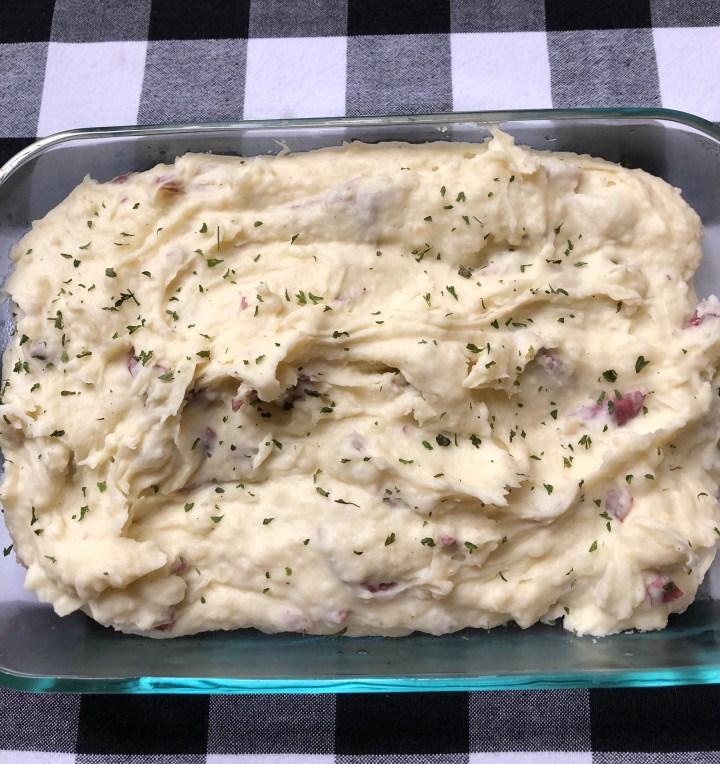 Creamy + Dreamy Steakhouse Mashed Potatoes