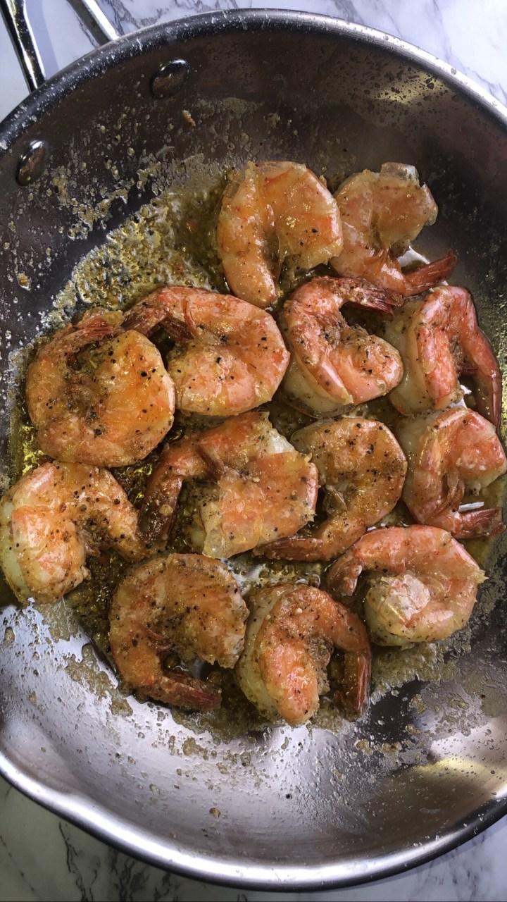 Garlic Peel N Eat Shrimp