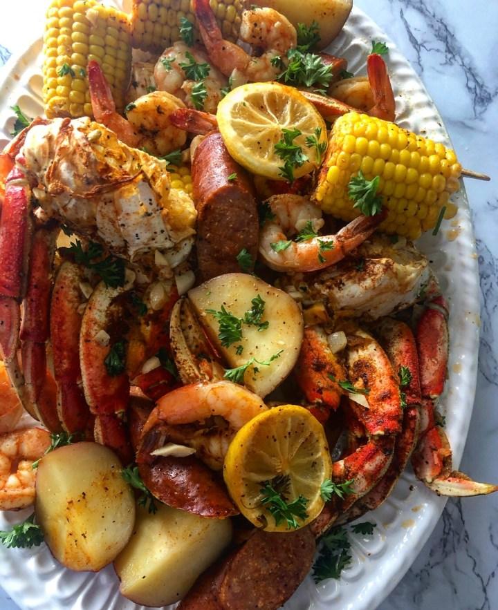 Oven Bag Crab Boil