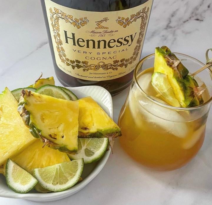 Pineapple Hennessy Margarita