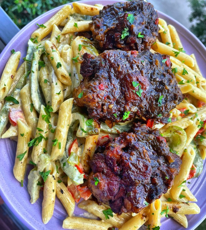 """Oxtail Pasta AKA """"Close the Deal Pasta"""""""