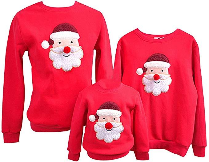 maglione famiglia natalizio