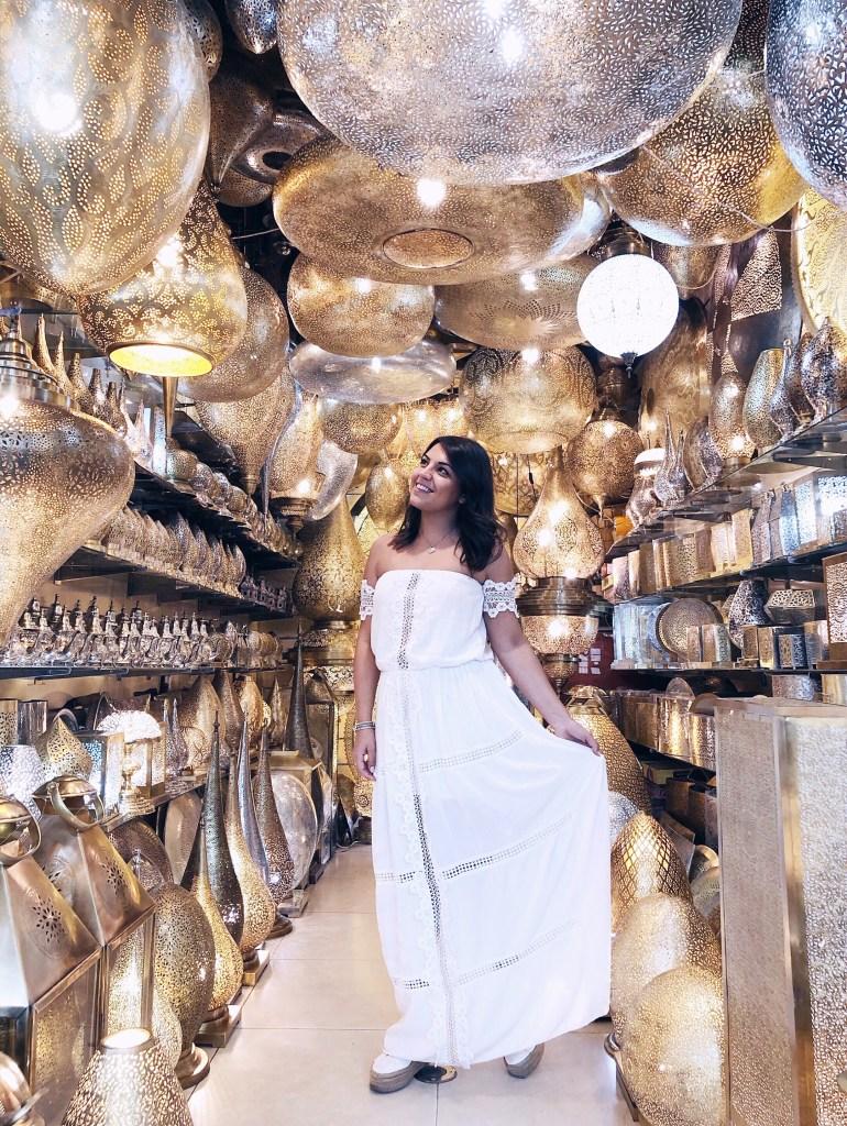 negozio lampade marrakech foto