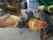 Luke Jerram Badger Skull to Glass