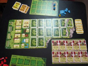 Agricola Revised Edition 2-player setup