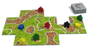 Carcassonne New Edition - meeple placement