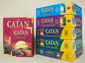 Catan game and expansions