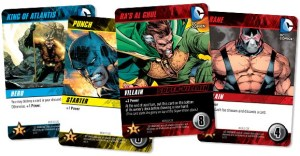 DC Comics Deck-building Game sample cards