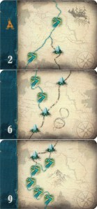 Discovery Cards of varying levels of difficulty and reward
