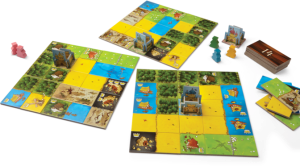 Kingdomino - three kingdoms at game end