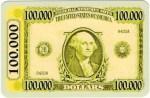 Las Vegas Boulevard $100,000 Banknote