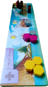 Lewis & Clark: The Expedition player board