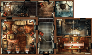 Mansions of Madness 2nd Ed room tiles