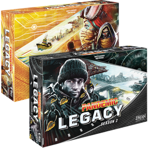 Pandemic Legacy: Season 2 - 2 box options