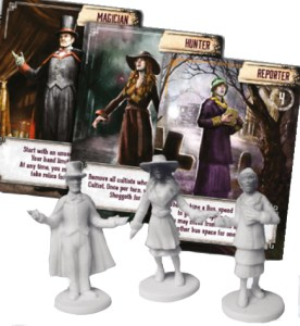 Pandemic: Reign of Cthulhu - sample roles