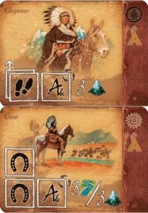 Tribe Cards - Cheyene and Crow