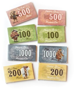 Unexploded Cow Deluxe Edition money tokens