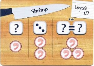 Wok Star Shrimp Preparation Card