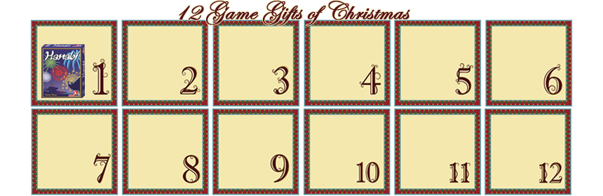 12 Game Gifts of Christmas: 1st Day