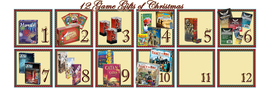 12 Game Gifts of Christmas 10th Day  sc 1 st  The Glass Meeple & The 12 Game Gifts of Christmas: 10th Day - The Glass Meeple
