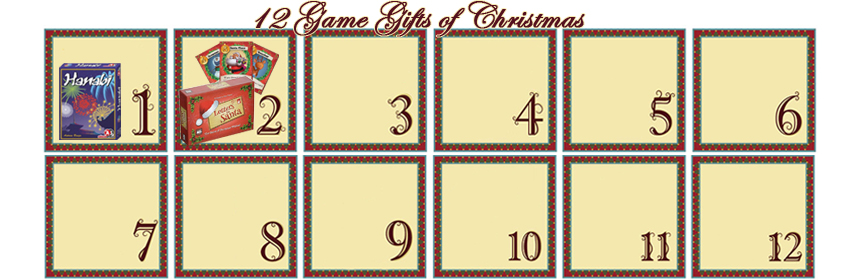 12 Game Gifts of Christmas: 2nd Day