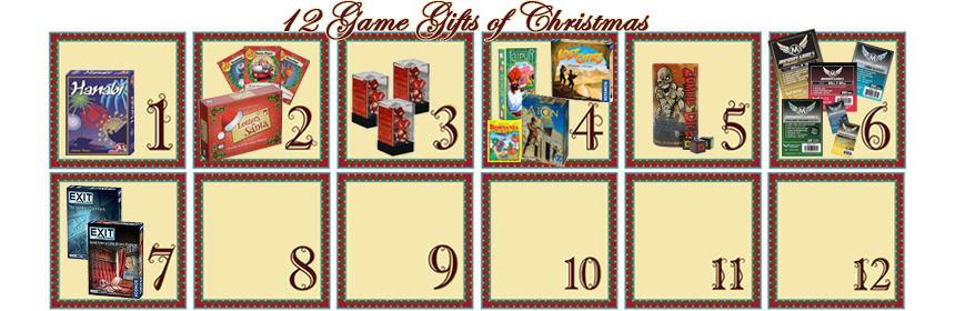 12 Game Gifts of Christmas: 7th Day