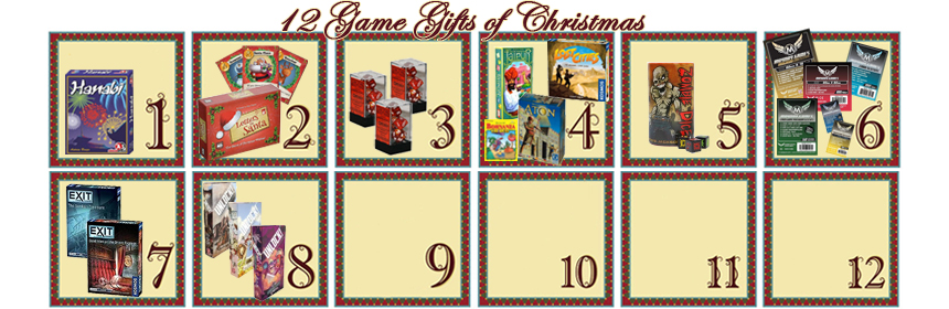12 Game Gifts of Christmas: 8th Day