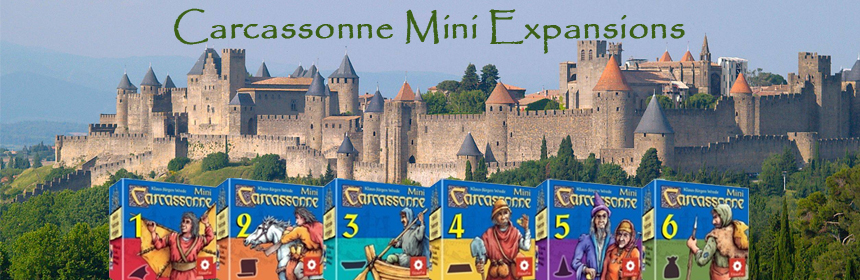 Carcassonne Mini Expansions