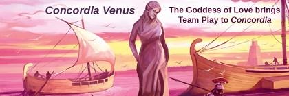 Concordia Venus - The Goddess of Love brings Team Play to Concordia