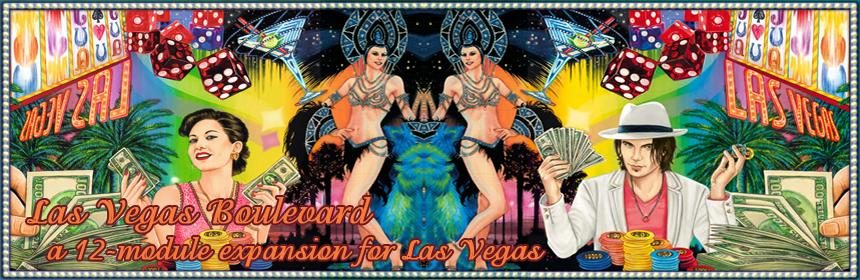 Las Vegas Boulevard - a 12-module expansion for Las Vegas
