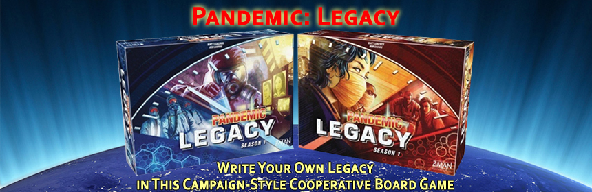 Pandemic: Legacy - Write Your Own Legacy in This Campaign-Style Cooperative Board Game