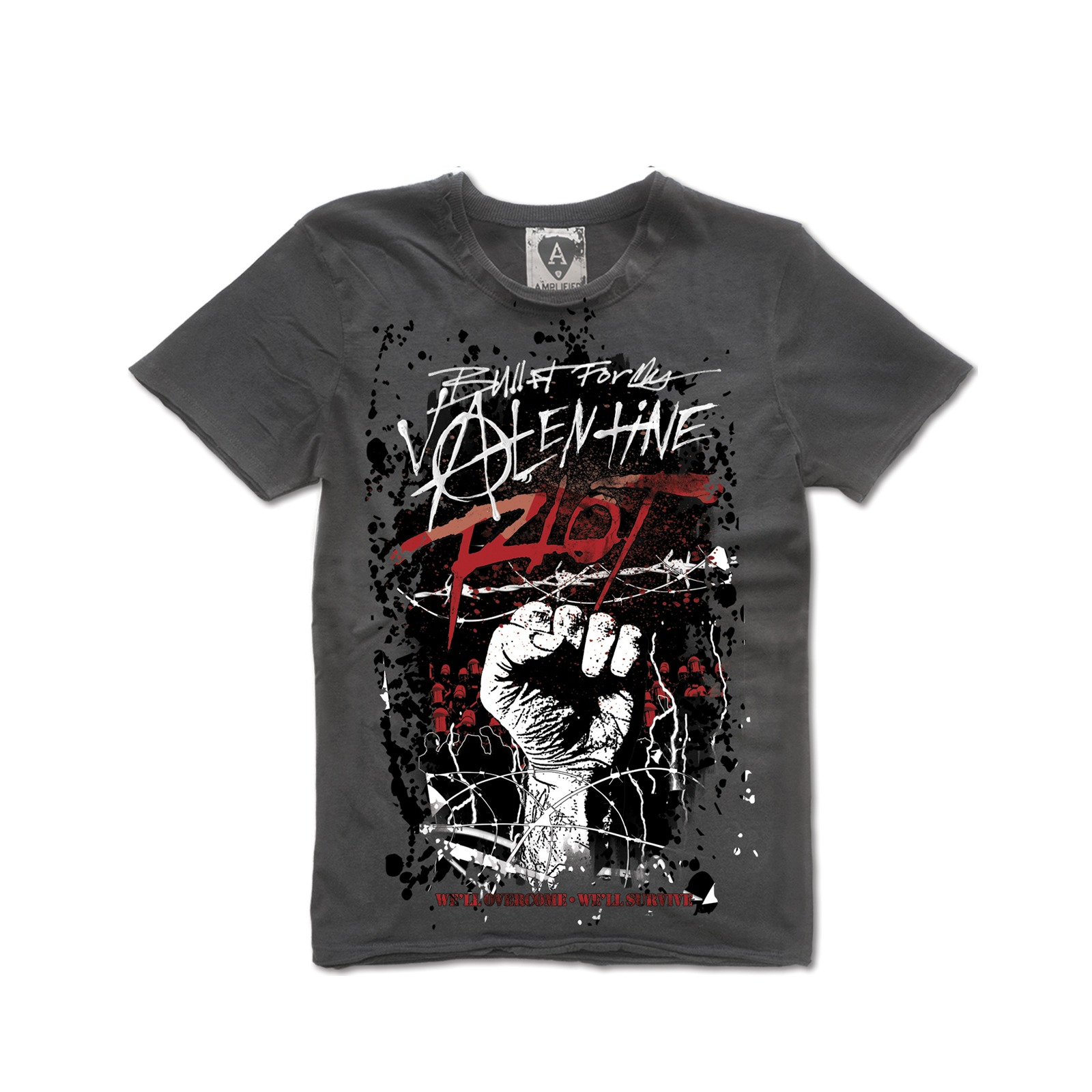 The Glimmer Twins Bullet For My Valentine Tee Shirt
