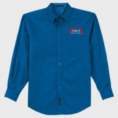 PA Easy Care Shirt Strong Blue