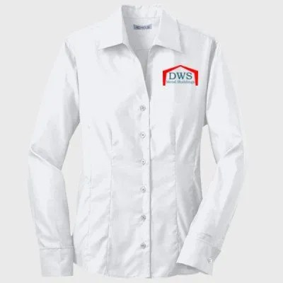 Red House Ladies French Cuff Oxford White