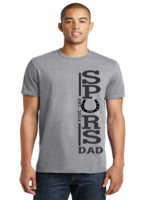 dad rjlee tshirts gris