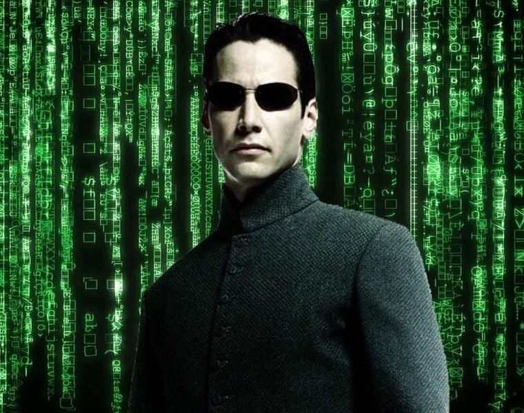 Neo Matrix Keanu Reeves 1999 Press