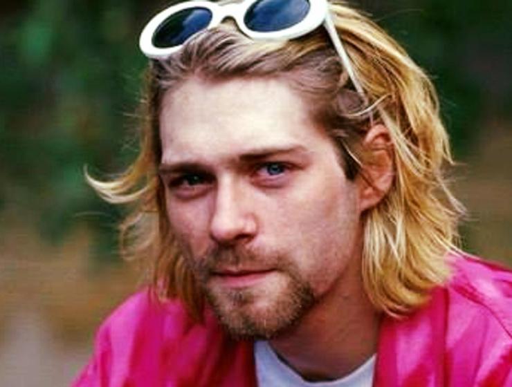 Kurt Gobain Promotional Image Grammy.com The Glitter and Gold