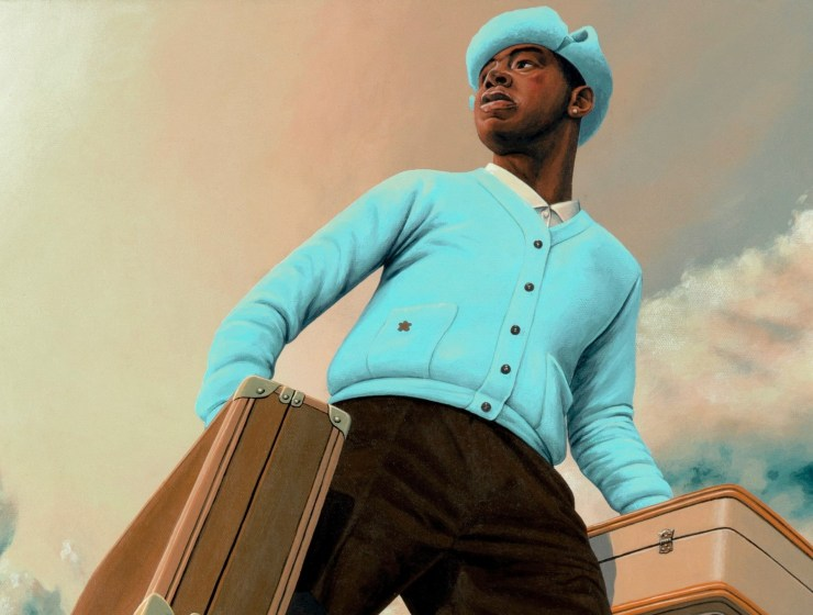 Tyler The Creator Call Me If You Get Lost LP art