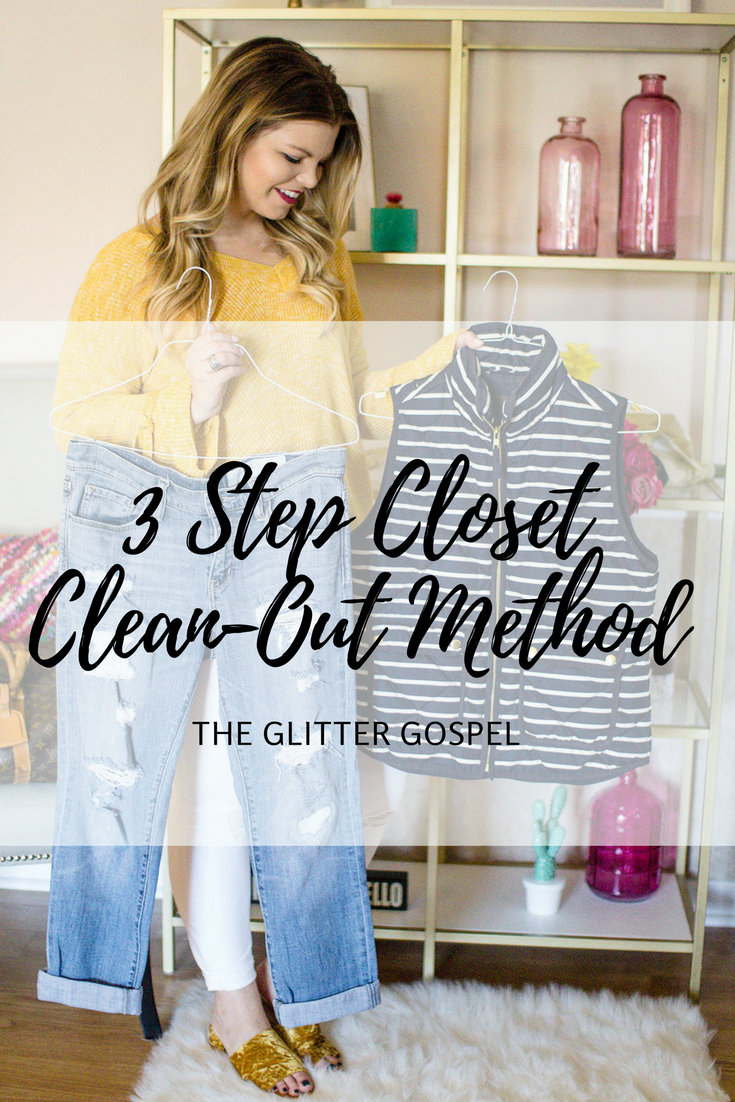 The 3-Step Closet Cleanout Method