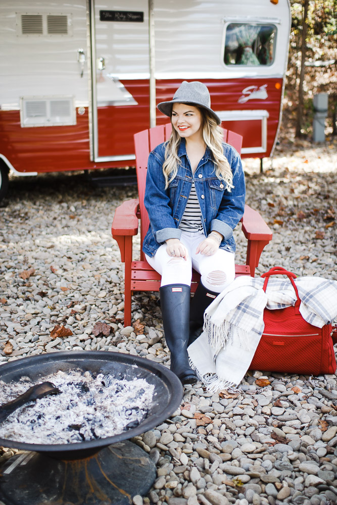 Glamping in the Smokies with the Vera Bradley Weekender + Giveaway!