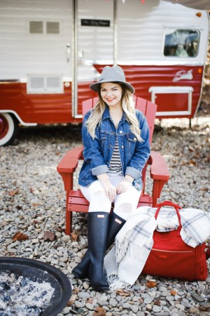 Glamping in the Smokey Mountains with the Vera Bradley Weekender Collection. Glamping, Gatlinburg, The Smokey Mountains, Fall Style, Travel