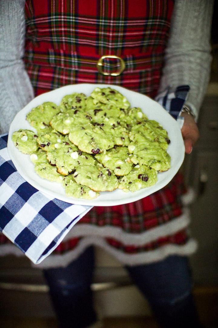 Cranberry Pistachio Jello Cookies, holiday cookie recipe, holiday treats, christmas cookies, recipe