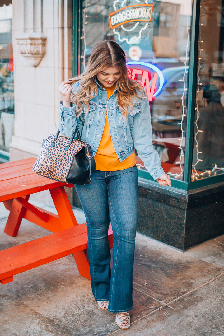 Canadian Tuxedo Done Right + Amazing Giveaway